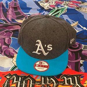 Oakland Athletics Snapback Baseball Flat Bill Hat